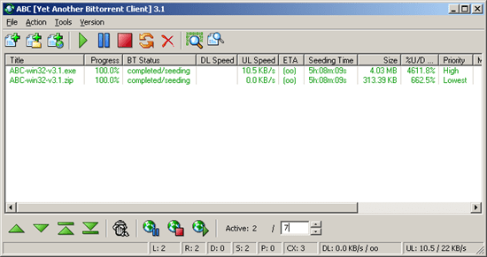 Yet Another Bit torrent Client FTP Clients and File manager : 15 useful FTP client, file manager and File sharing tool