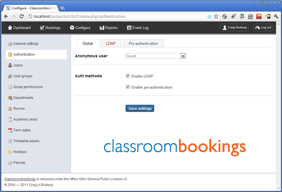 classroombookings room booking system for schools