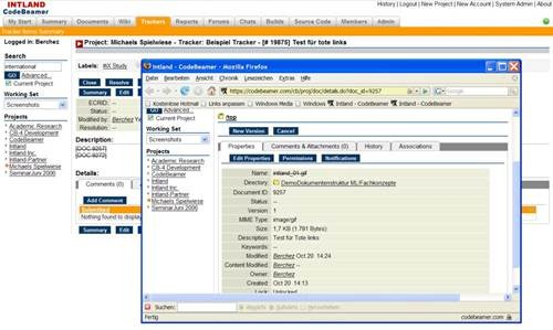 codeBeamer wiki 17 open source wiki engine/software