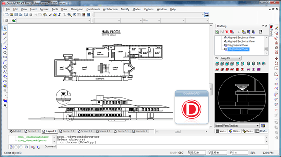 doublecad xt 10 useful Free alternative to AutoCAD