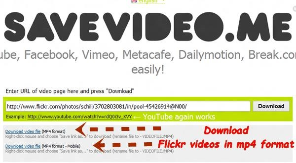 download videos in mp4 format How to Download Videos from Flickr [Quick Tips]