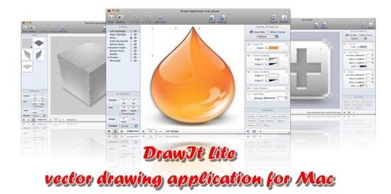 DrawIt Lite - vector drawing application for Mac