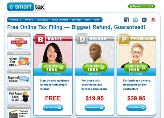 e-Smart Tax - Turbotax alternative apps