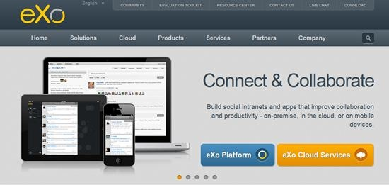eXo Platform - Cloud based content management platform