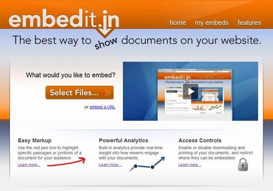 embedit - Embed Any Files