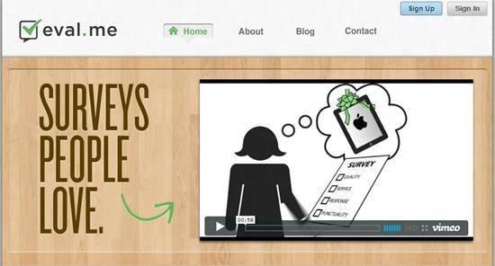 eval.me Survey software : Top 15 online survey software and questionnaire