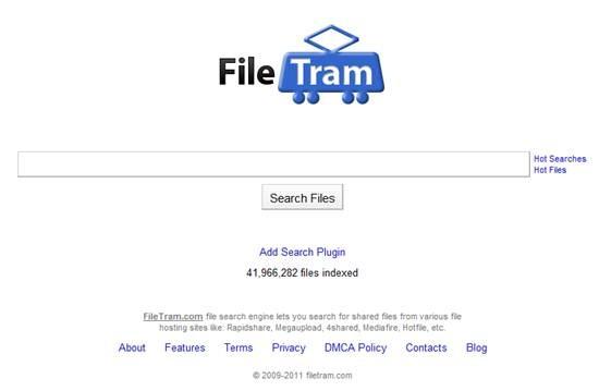 file search engine FileTram