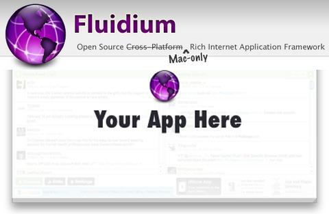 Turn your web app into a Mac Desktop App with Fluidium