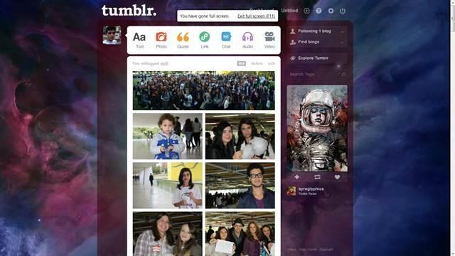orion nebula 49 Useful Tumblr dashboard theme for Tumblr User