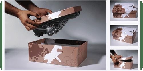 Reebok Exta Grip Packaging design