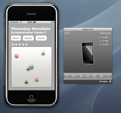 PhoneGap - open source mobile development framework