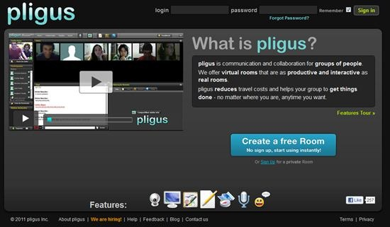 pligus web conferencing tool
