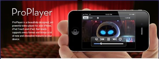 proplayer - Best Mobile video players for iPhone