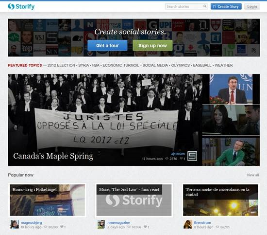 storify 8 Best Content Curation Tools for personal use