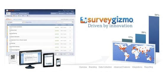 surveygizmo Survey software : Top 15 online survey software and questionnaire