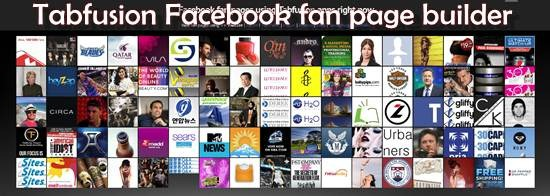 tabfusion 13 useful Custom Facebook Fan page builder