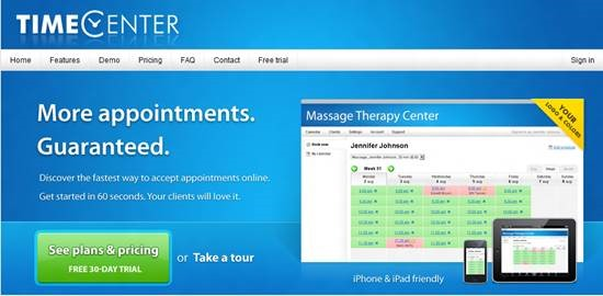 timecenter Top 16 online appointment scheduling software