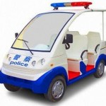 New Electric Police Car Hits 40 KPH!