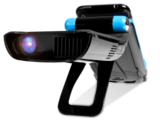 Mili iphone pico projector now on sale in uk gadgetynews for Ipod projector