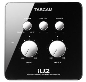 Tascam iU2 iOS PC Mac Audio Interface