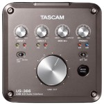 TASCAM US-366 USB audio interface hands on review