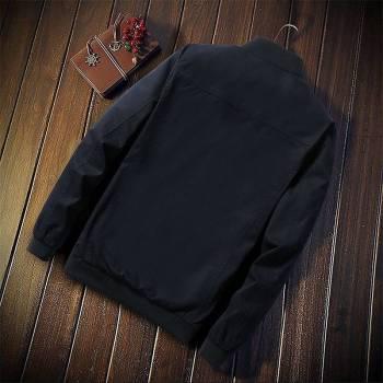 5bbef605606c1316d543f1f9 3 larg New Autumn Fashion Men Casual Slim Fit Zipper Jacket