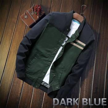 5bbef605606c1316d543f1f9 4 larg New Autumn Fashion Men Casual Slim Fit Zipper Jacket