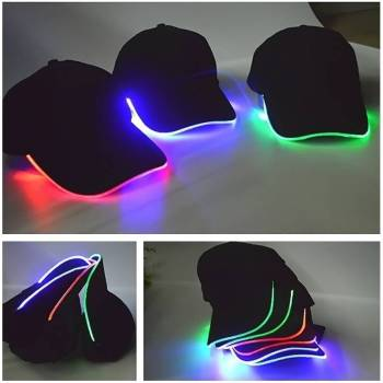 LED Light Baseball Hat