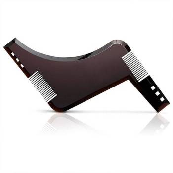 5c6a72344979b12c736f090b 1 larg Men Beard Shaping Tool with Inbuilt Comb for Perfect Line Up