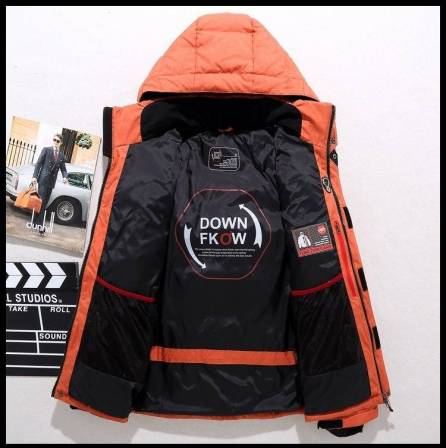 Outerwear Hooded Snow Jacket (XS-5XL)
