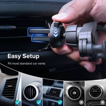 H6b5730fd0bf8434893957e6b6d9af1f0V Gravity Car Holder For Phon GPS Stand For iPhone XS MAX Xiaomi