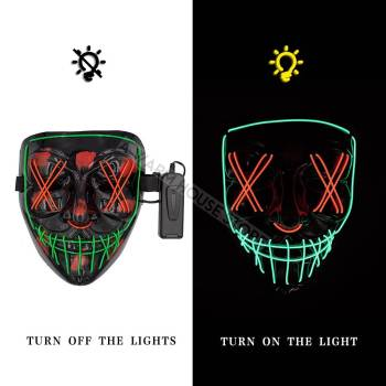 HTB12hjOaFY7gK0jSZKzq6yikpXa2 Halloween Party Led Mask  - Super Cool  Halloween Accessories