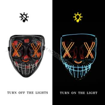 HTB1IpTSaHr1gK0jSZR0q6zP8XXaM Halloween Party Led Mask  - Super Cool  Halloween Accessories