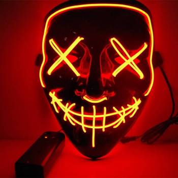 HTB1N PRaQT2gK0jSZFkq6AIQFXaU Halloween Party Led Mask  - Super Cool  Halloween Accessories
