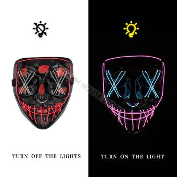 HTB1hrHPaFP7gK0jSZFjq6A5aXXar Halloween Party Led Mask  - Super Cool  Halloween Accessories
