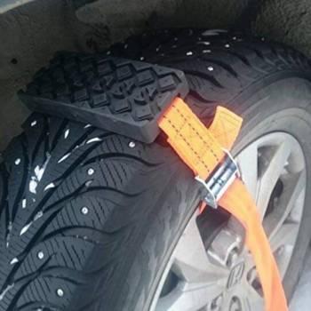H01c0b38ed6a542eba8fd83b95524c4eeB Tyre Traction Strap Emergency Snow Kit