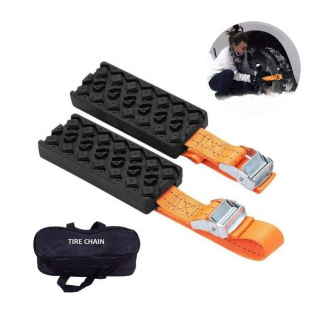 Tyre Traction Strap Emergency Snow Kit