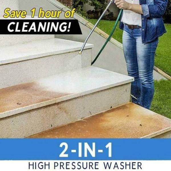 2-in-1 High Pressure Washer 2.0 Outdoor