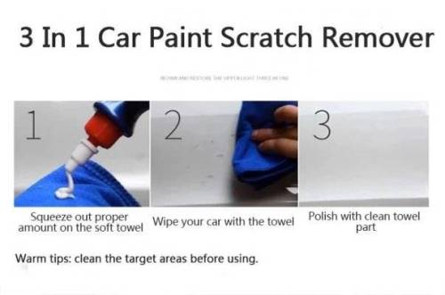 scratches on the paint