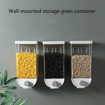 Food storage box kitchen wall mounted storage tank plastic container storage food storage airtight container 1 Food Storage container