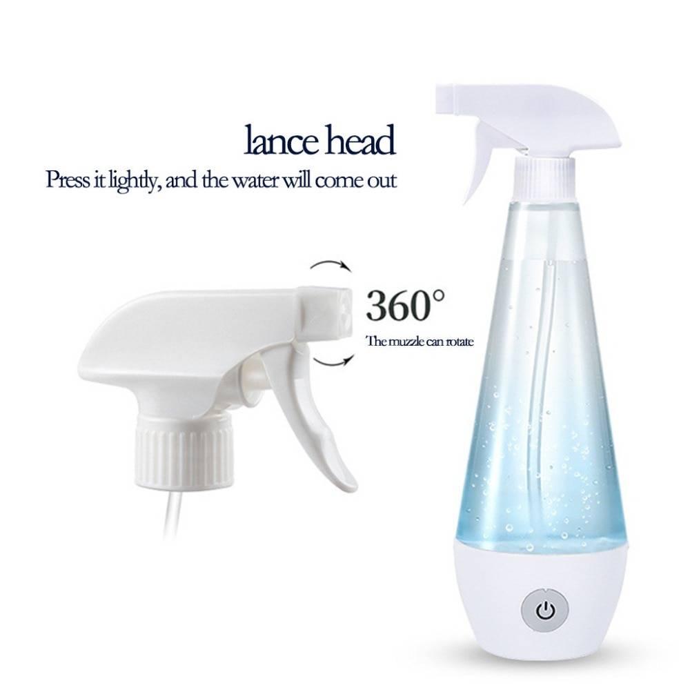 300ml Portable disinfection liquid making machine homemade disinfection spray HOCl Disinfection machine 30M16 (14)