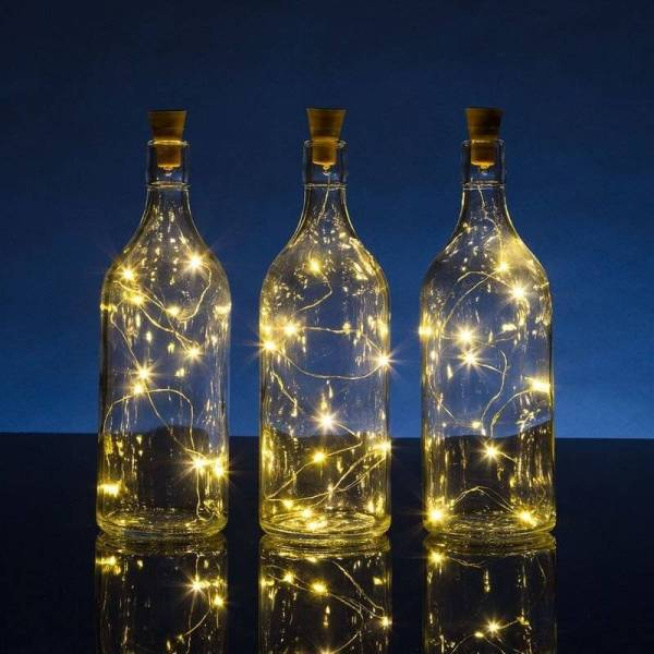 DIY Bottle Lights – Wine Bottle Lights