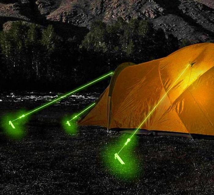 Awesome Glow In The Dark Tent Rope https://gadkit.com