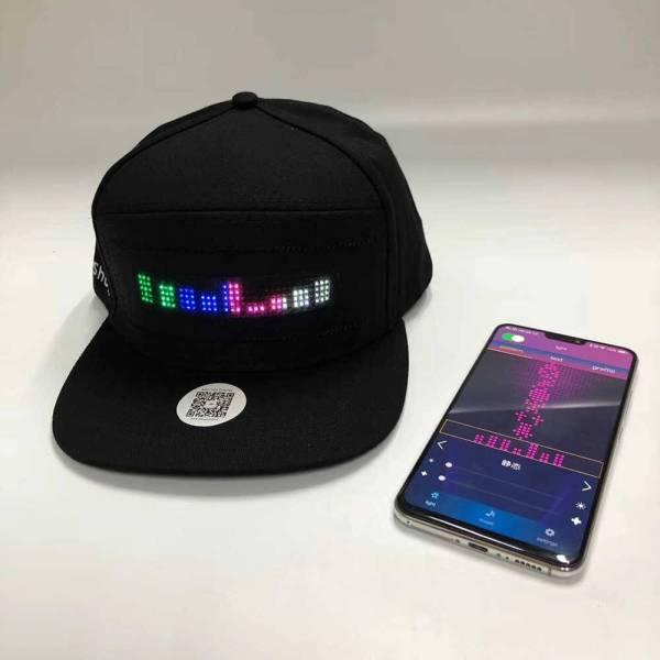 Bluetooth LED Hat Gadkit