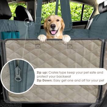 Dog Car Seat Cover 100 Waterproof Pet Dog Travel Mat Mesh Dog Carrier Car Hammock Cushion 1 Pet Dog Travel Mat - Mesh Dog Carrier Car Hammock