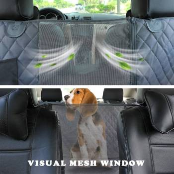 Dog Car Seat Cover 100 Waterproof Pet Dog Travel Mat Mesh Dog Carrier Car Hammock Cushion 3 Pet Dog Travel Mat - Mesh Dog Carrier Car Hammock