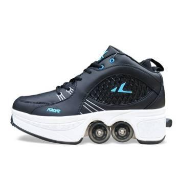 Hot Shoes Casual Sneakers Walk Skates Deform Wheel Skates for Adult Men Women Unisex Couple Childred 54.jpg 640x640 54 Turn Your Shoe Into Skate - Skateshoe
