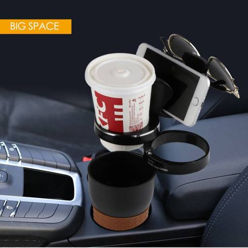 Multi Function Car Drink Cup Holder Phone Holder Storage Box Auto Sunglasses Holder Car Organizer for 8 Unique Christmas Gifts for Dad Who Wants Nothing