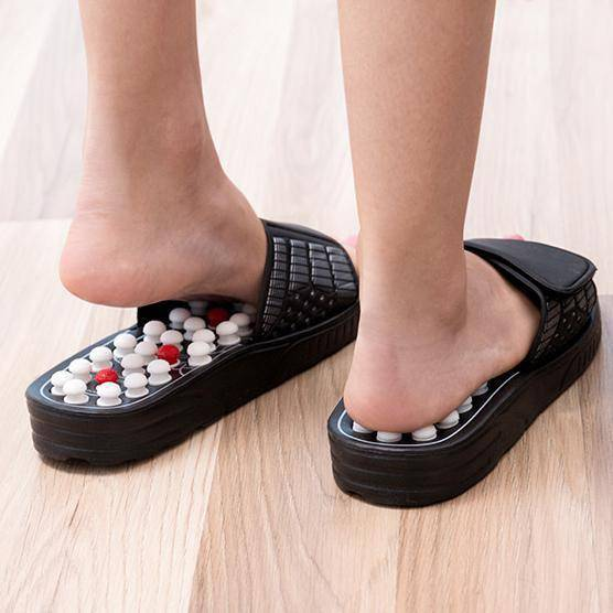 No Pain Acupuncture Slippers Gadkit