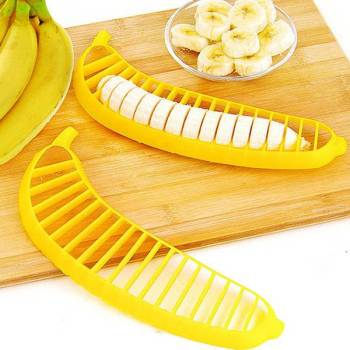 Plastic Banana Slicer Gadkit 1 Plastic Banana Slicer